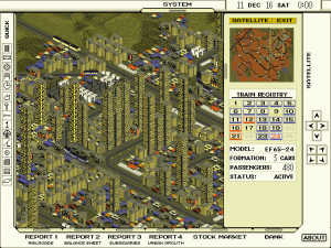 Screenshot of A-Train